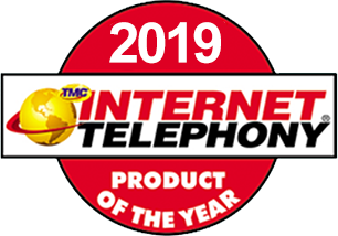 2019 Internet Telephony Product of the Year Award
