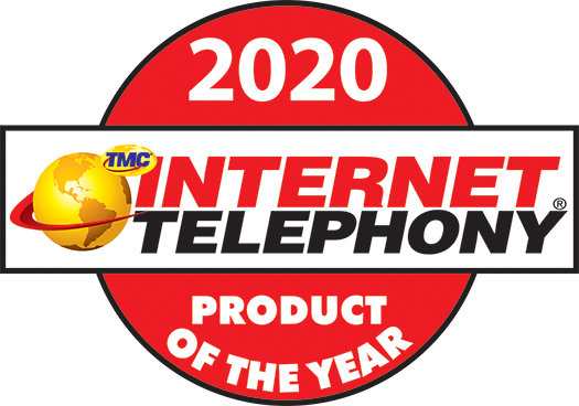 2020 Internet Telephony Product of the Year Award