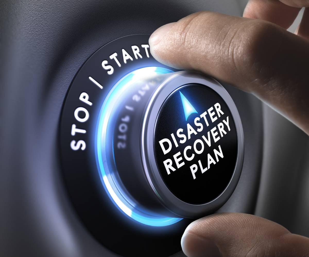 Disaster recover plan switch set to start