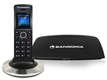 Sangoma DC201 Cordless DECT phone package