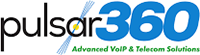 Pulsar360 Corporation Advanced VoIP & Telecom Solutions Logo